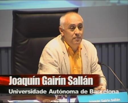 Joaquín Gairín Sallán. - I Foro sobre Empleo Público